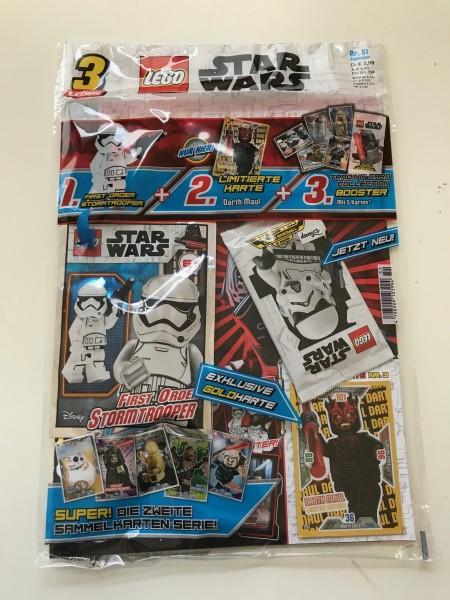 Lego Star Wars Magazin Nr. 51 (mit Lego Figur, Booster und LE 3 )