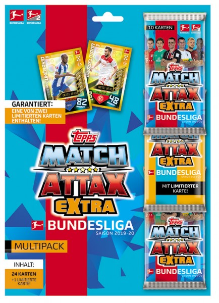 "Topps Match Attax Bundesliga 2019/20 ""Extra"" - Multipack"