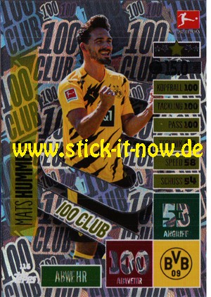 Topps Match Attax Bundesliga 2020/21 - Nr. 116 (Club 100)
