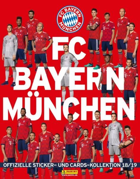 """FC Bayern München 18/19 """"Sticker & Karten"""" - Stickeralbum"""