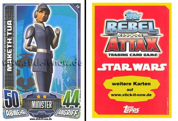 Rebel Attax - Serie 1 (2015) - MAKETH TUA - Nr. 39