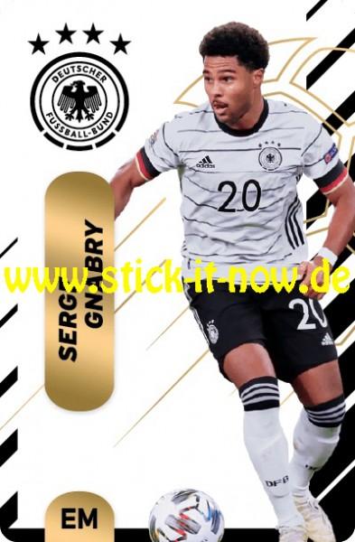 "Ferrero Team Sticker EM 2020 (2021) - ""Action"" Nr. 19 ( Gnabry )"