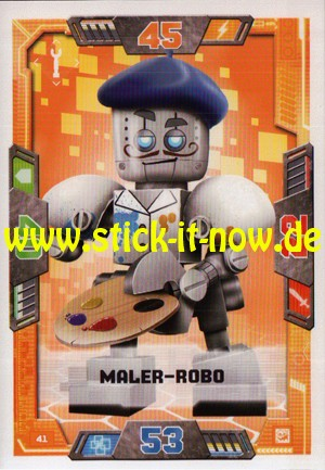 Lego Nexo Knights Trading Cards - Serie 2 (2017) - Nr. 41