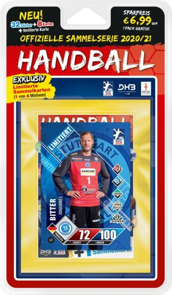 LIQUI MOLY Handball Bundesliga 20/21 - Blister (A) Bitter