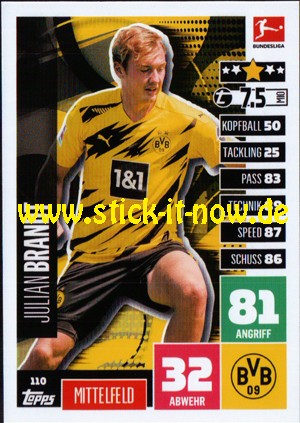 Topps Match Attax Bundesliga 2020/21 - Nr. 110