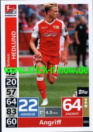 "Topps Match Attax Bundesliga 18/19 ""Action"" - Nr. 501"