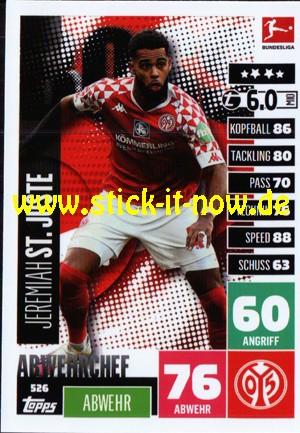 """Topps Match Attax Bundesliga 2020/21 """"Extra"""" - Nr. 526"""
