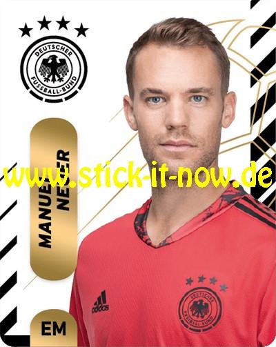 "Ferrero Team Sticker EM 2020 (2021) - ""Portrait"" Nr. 1 ( Neuer )"