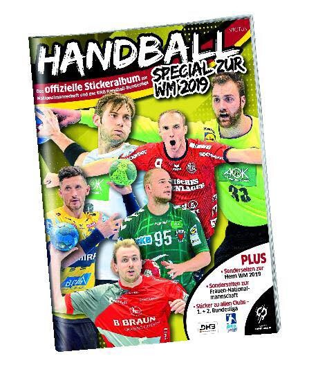 DKB Handball Bundesliga Sticker 18/19 - Stickeralbum