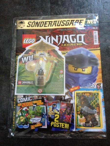 Lego Ninjago Legacy Magazin Nr. 2 ( Mit Lego Figur und LE23 )