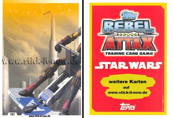 Rebel Attax - Serie 1 (2015) - STRIKE-FORCE - REBELLION 2 - Nr. 101