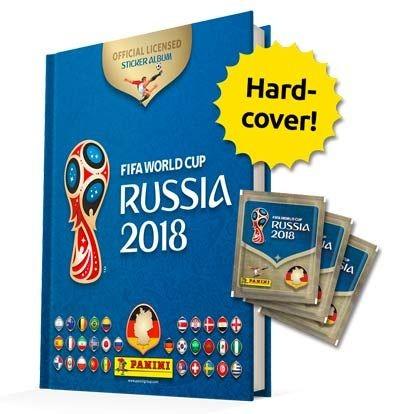 "Panini WM 2018 Russland ""Sticker"" - Hardcover Album (+3 Tüten)"