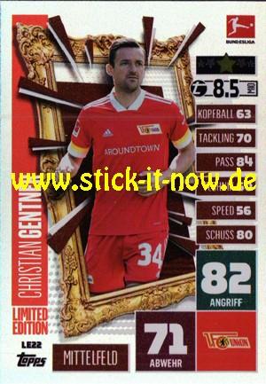 "Topps Match Attax Bundesliga 2020/21 ""Extra"" - Nr. LE 22 (Limitierte Auflage)"
