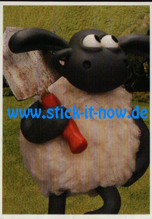"""Aldi Nord - Shaun das Schaf """"Sticker"""" - Nr. 38"""