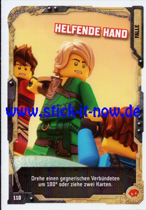 "Lego Ninjago Trading Cards - SERIE 5 ""Next Level"" (2020) - Nr. 110"