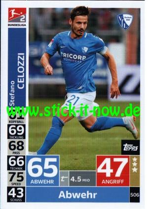 "Topps Match Attax Bundesliga 18/19 ""Action"" - Nr. 506"
