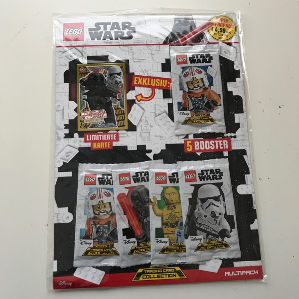 Lego Star Wars Trading Card Collection 2 (2019) - Multipack 2 ( LE 14 )