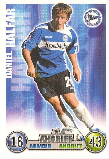 Daniel Halfar - Match Attax 08/09 - Arm. Bielefeld