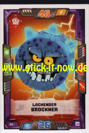 Lego Nexo Knights Trading Cards - Serie 2 (2017) - Nr. 67