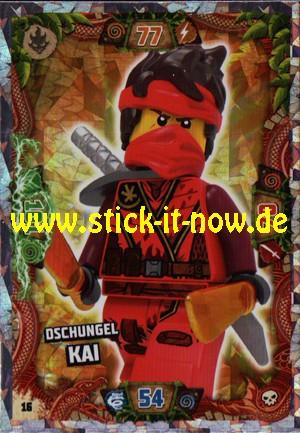 Lego Ninjago Trading Cards - SERIE 6 (2021) - Nr. 16 (Insel-Holofolie)