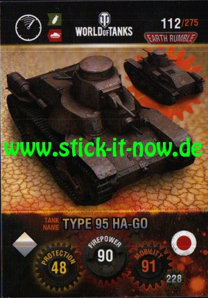 """World of Tanks """"Earth Rumble"""" (2017) - Nr. 112"""