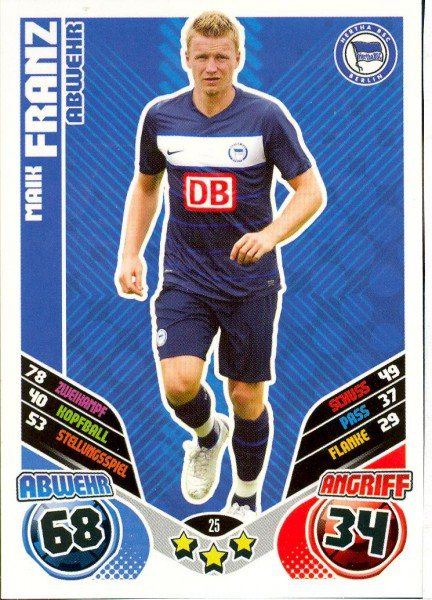 Maik Franz - Match Attax 11/12