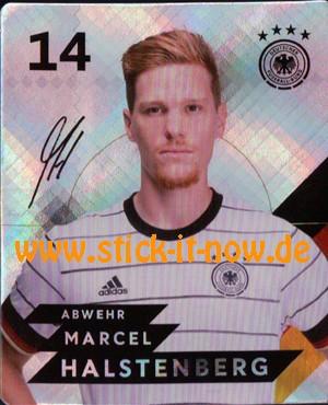 Rewe DFB Sammelkarten EM 2020 - Nr. 14 (Glitzer)