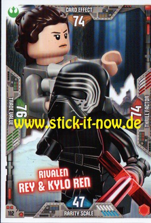 Lego Star Wars Trading Card Collection 2 (2019) - Nr. 112