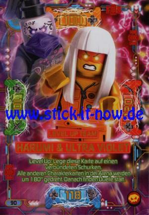 "Lego Ninjago Trading Cards - SERIE 5 ""Next Level"" (2020) - Nr. 90 (Level Up)"