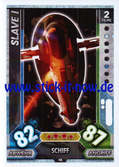 Topps Star Wars FORCE ATTAX UNIVERSE (2017) - Nr. 48