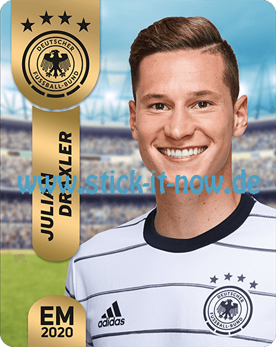 """Ferrero Team Sticker EM 2020 - """"Portrait"""" Nr. 21"""