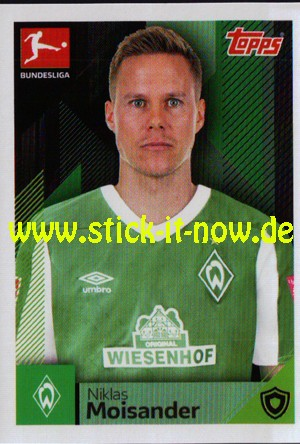 "Topps Fußball Bundesliga 2020/21 ""Sticker"" (2020) - Nr. 93"