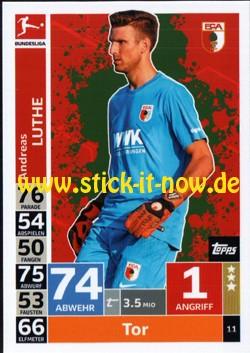 Topps Match Attax Bundesliga 18/19 - Nr. 11