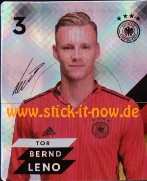 Rewe DFB Sammelkarten EM 2020 - Nr. 3 (Glitzer)