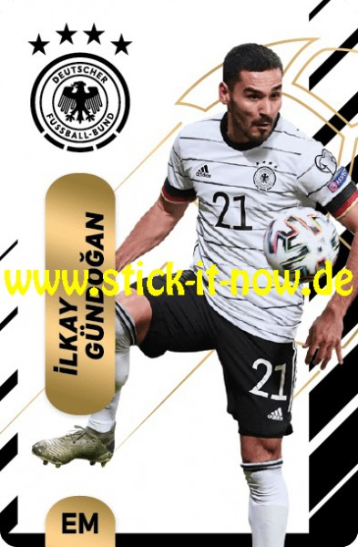 "Ferrero Team Sticker EM 2020 (2021) - ""Action"" Nr. 9 ( Gündogan )"