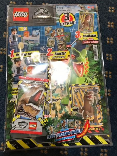 Lego Jurassic World Magazin Nr. 12 ( mit Lego Figur, Booster & LE 2 )