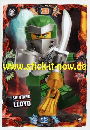 Lego Ninjago Trading Cards - SERIE 6 (2021) - Nr. 1