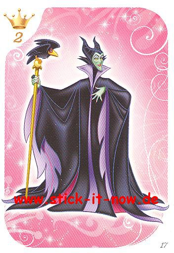 Topps - Disney Princess / Disney Prinzessin - Nr. 17