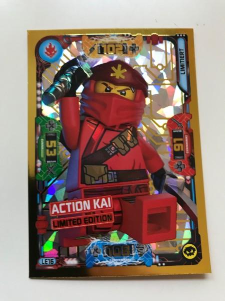 Lego Ninjago Trading Cards - SERIE 5 (2020) - Nr. LE16 ( Limited )