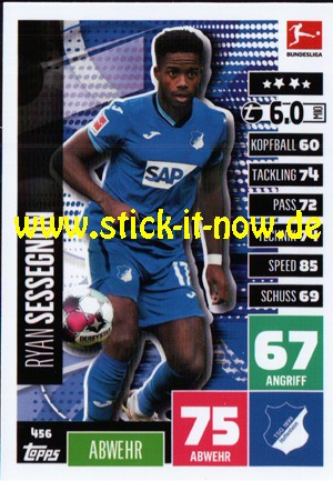 """Topps Match Attax Bundesliga 2020/21 """"Extra"""" - Nr. 456"""