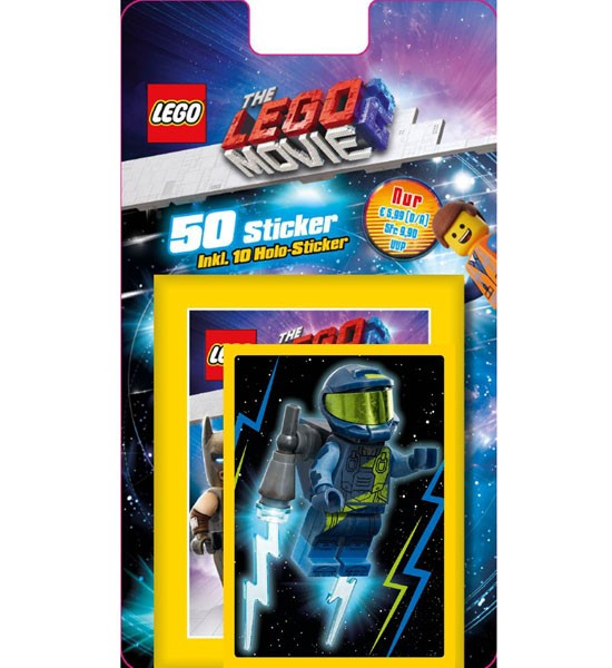 "The Lego Movie 2 ""Sticker"" (2019) - Blister ( 50 Sticker )"