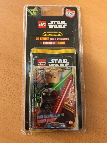 Lego Star Wars Trading Card Collection (2018) - Blister 2 ( LE20 )
