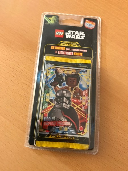 Lego Star Wars Trading Card Collection (2018) - Blister 4 ( LE24 )
