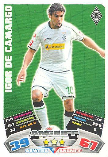 Match Attax 12/13 - Igor de Camargo - Bor. M'gladbach - Nr. 233