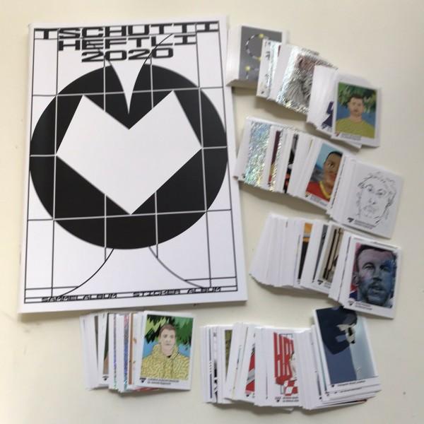 "Tschutti Heftli ""EM 2020"" (2021) - komplettsatz ( alle Sticker + Album )"