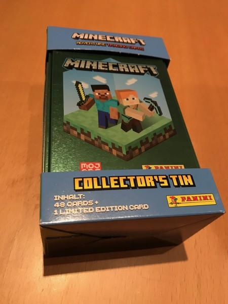 Minecraft Trading Cards (2021) - Tin Dose ( 48 Karten + 1 von 6 LE Karten )