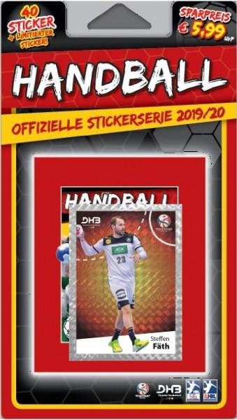 LIQUE MOLY Handball Bundesliga Sticker 19/20 - Blister 2 ( Steffen Fäth )