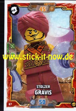 Lego Ninjago Trading Cards - SERIE 6 (2021) - Nr. 67