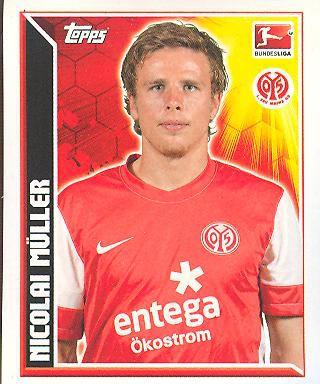 Topps Fußball Bundesliga 11/12 - Sticker - Nr. 267