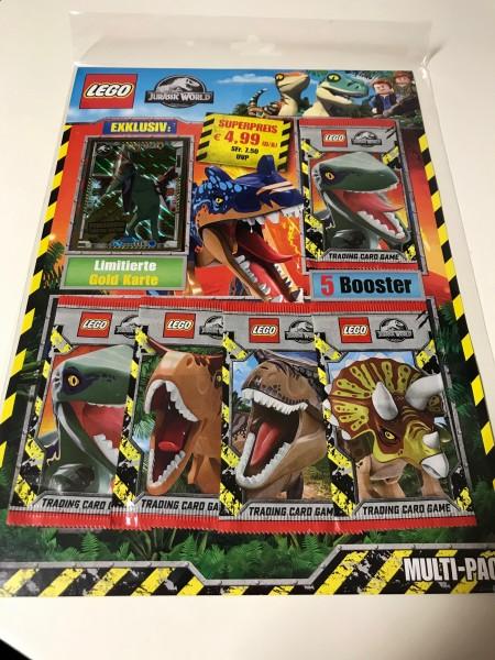 "LEGO ""Jurassic World"" Trading Cards (2021) - Multipack 4 (LE 10)"